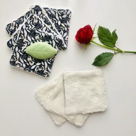 Jardin Secret Semainier Carrés de Coton Lavables
