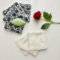 Jardin Secret Semainier Carrés de Coton Démaquillants Lavables