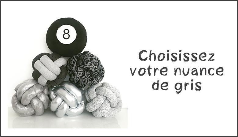 Choisissez votre nuance de gris